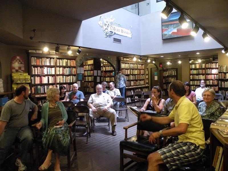 Reading at Avol's Bookstore